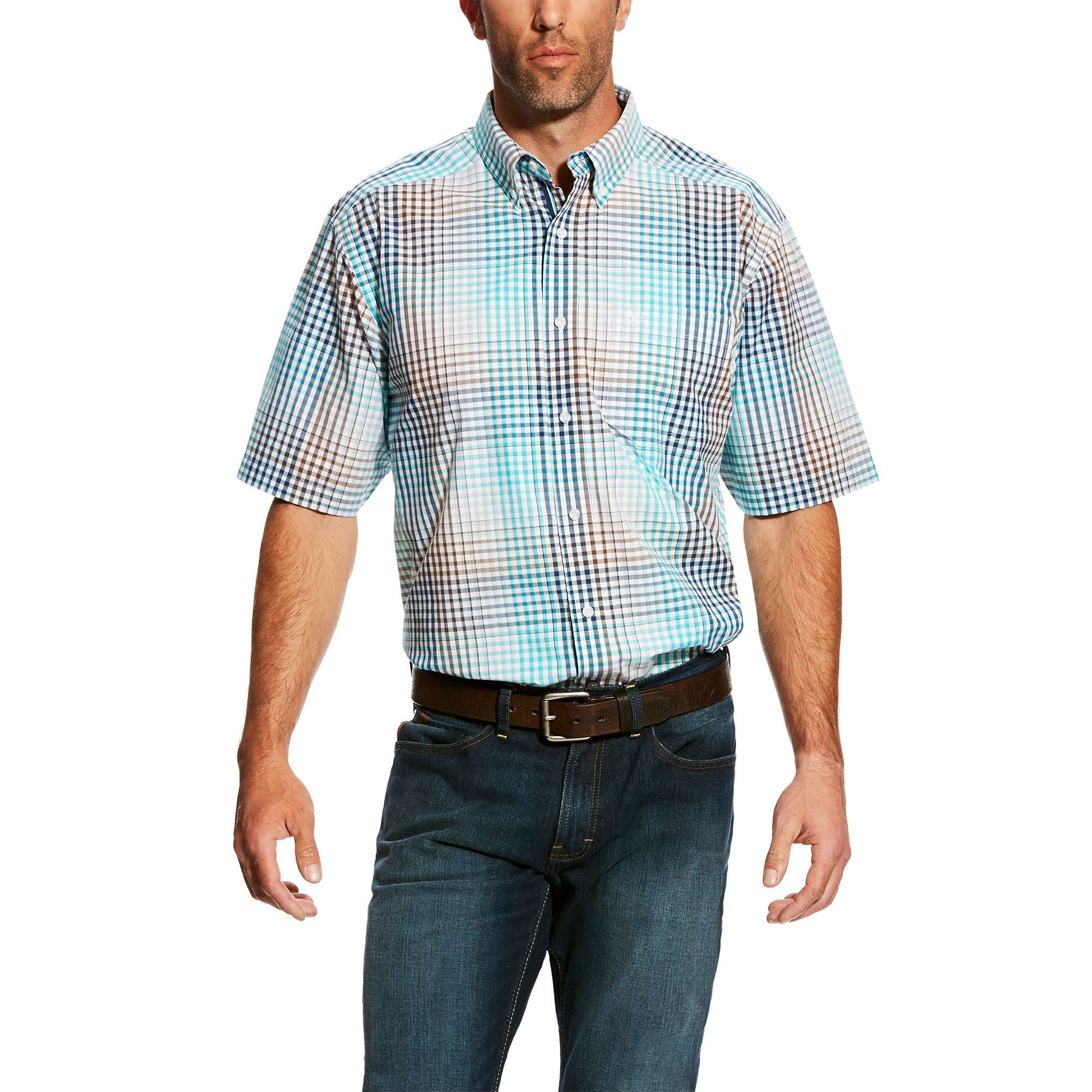 33cc5405c74 Columbia Sportswear Global Adventure Plaid Shirt - UPF 15, Short Sleeve  (For Men)