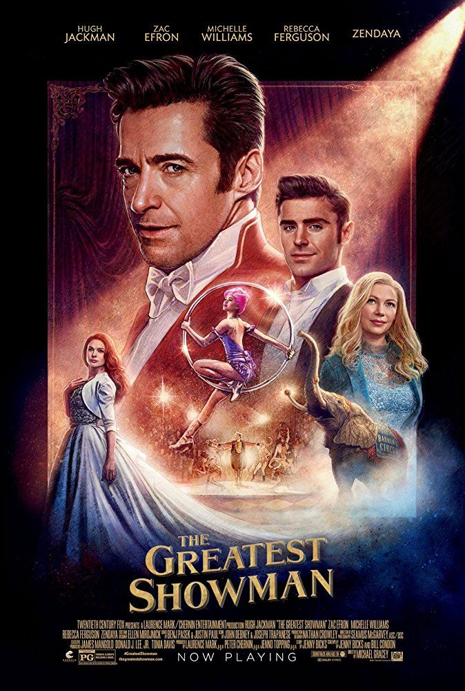 The Greatest Showman (2017) Showman movie, The greatest