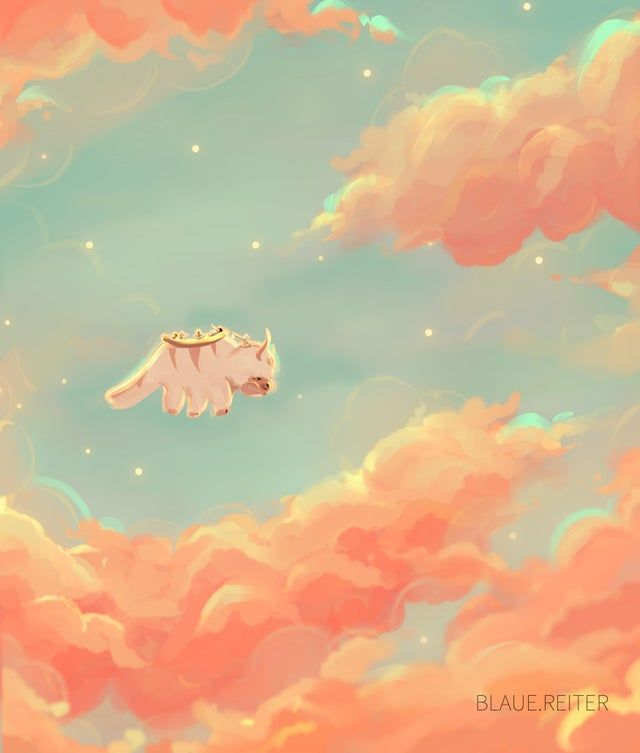 Appa Cotton Candy Clouds In 2020 Avatar The Last Airbender Art The Last Avatar Art