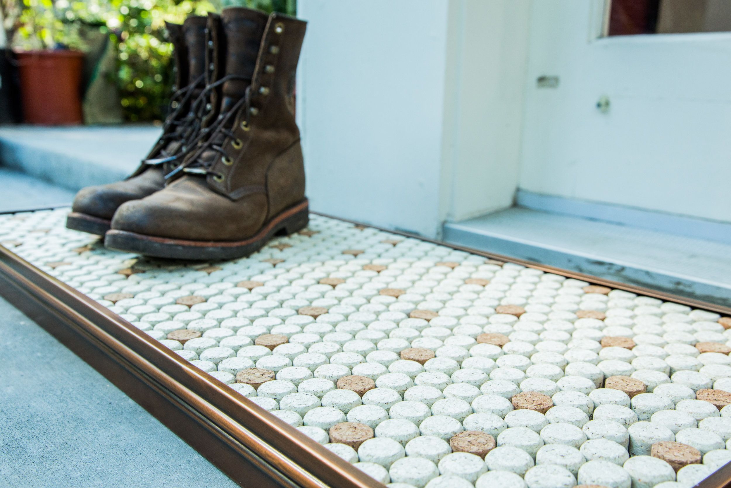 A DIY from Ken Wingard. | Cork diy, Boot tray