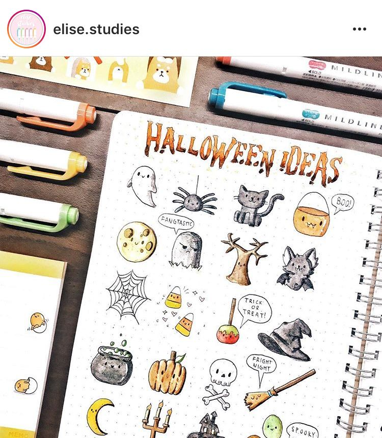 #halloweenbulletjournal