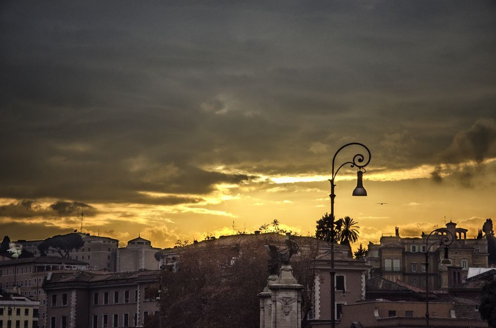 Sunset in Rome by Fabiola Cianciaruso