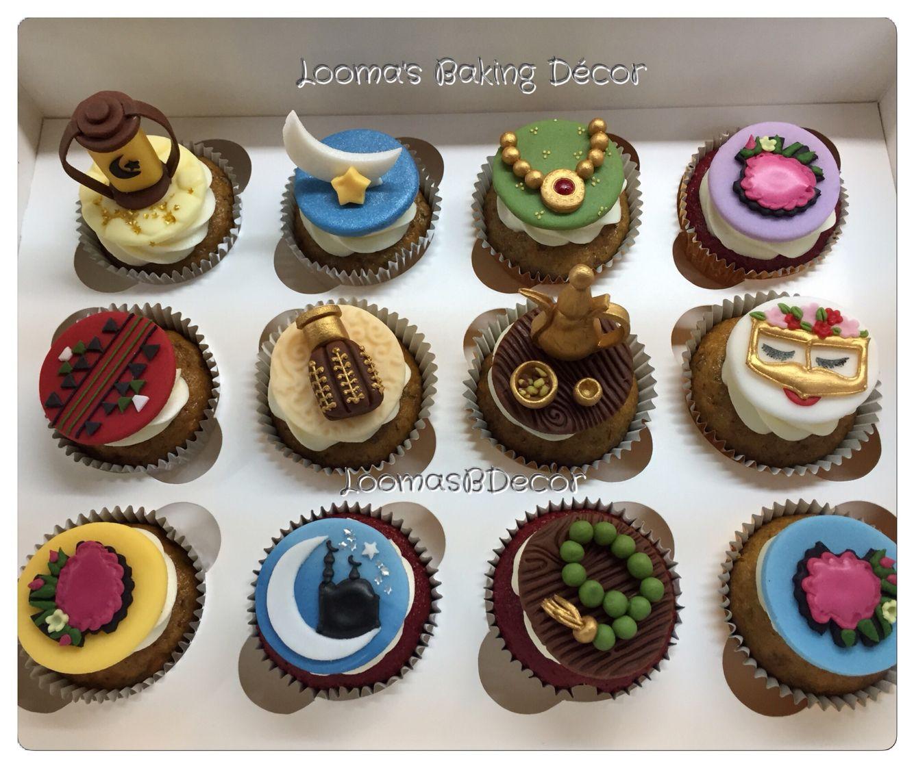 My Ramadan Cupcakes Collection كب كيك رمضان والقرقيعان من مجموعتي الخاصة Cupcake Cakes Cake Shop Baking