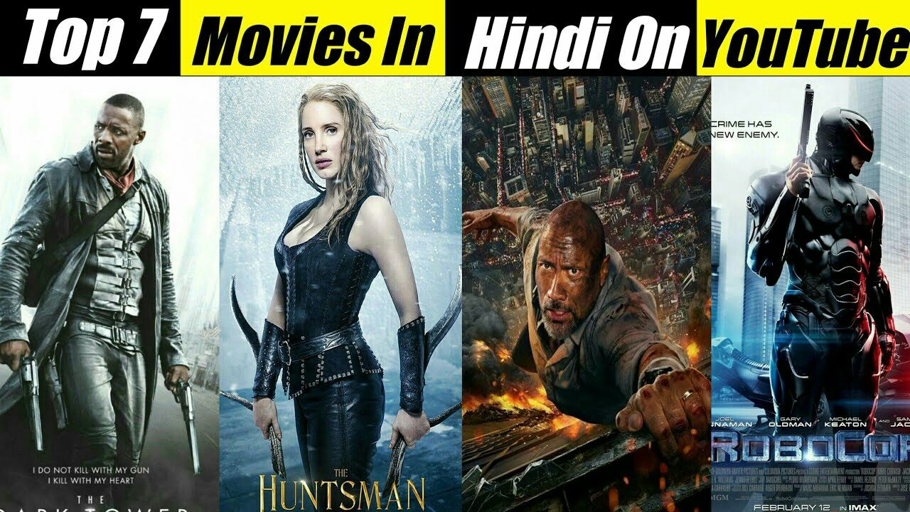 Hollywood Top 7 Movies Dubbed In Hindi Available On Youtube New Action Movie 2020 Hollywood Action Movies Movies Hollywood