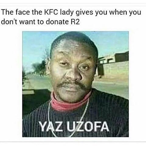Kfc R2 Mzansi Memes African Jokes Funny Relatable Memes