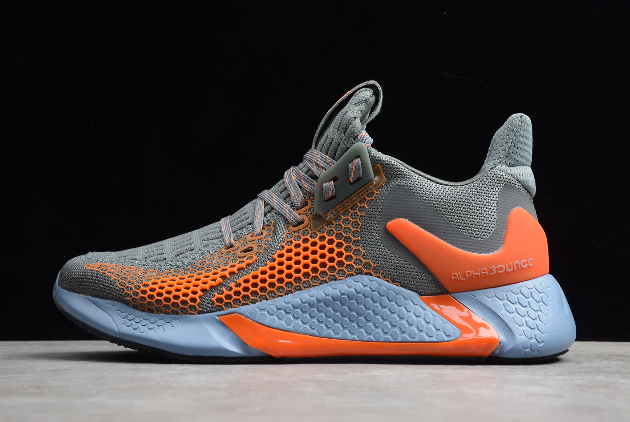 2020 Adidas Alphabounce Beyond M Core Grey Orange Cg5583 For Sale Sneakers Men Sneakers Mens Dress Boots