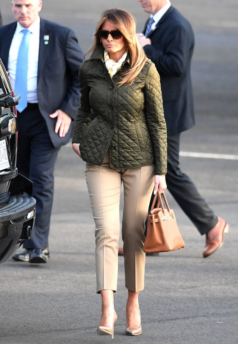 Melania Trump Rings in the New Year Wearing a 4,740