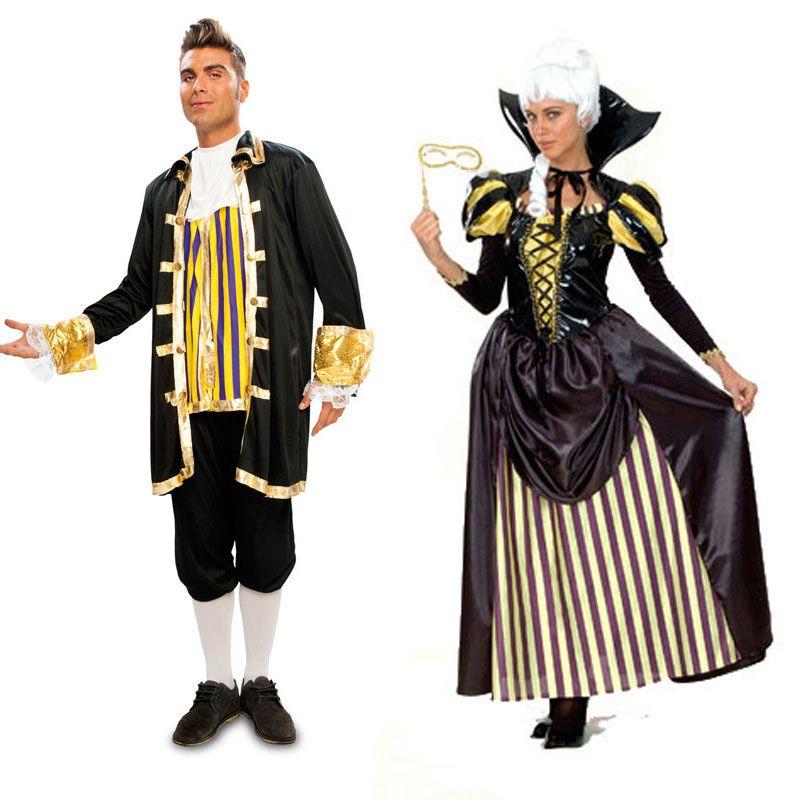Costumes pour couples Nobles #déguisementscouples
