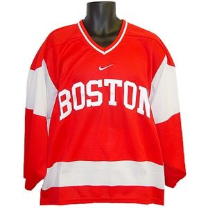 the latest 0bfef 43353 Boston University Terriers Nike Replica Red Hockey Jersey XL ...