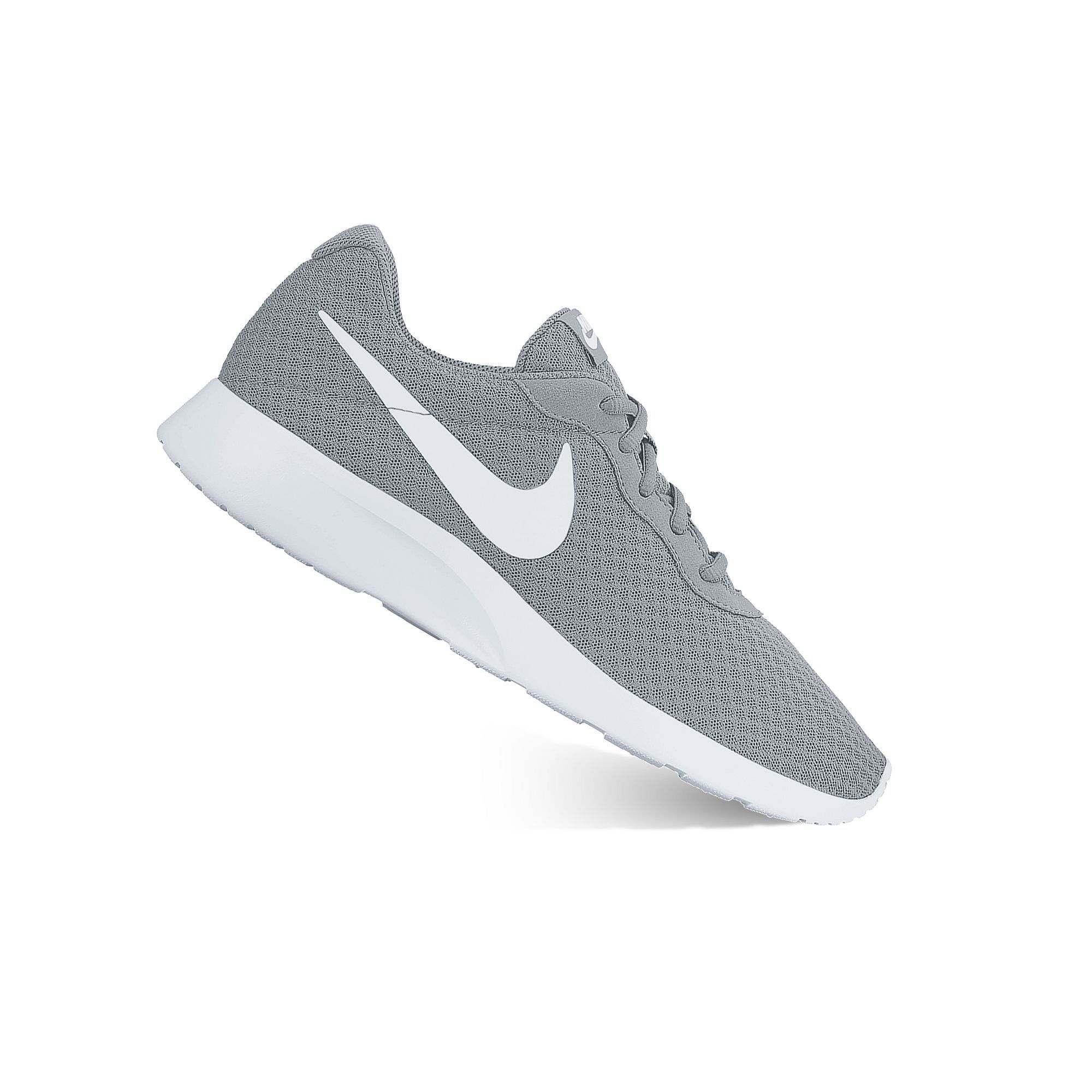 new product 6512b ff357 Nike Tanjun Men s Athletic Shoes, Size  10.5, Light Grey