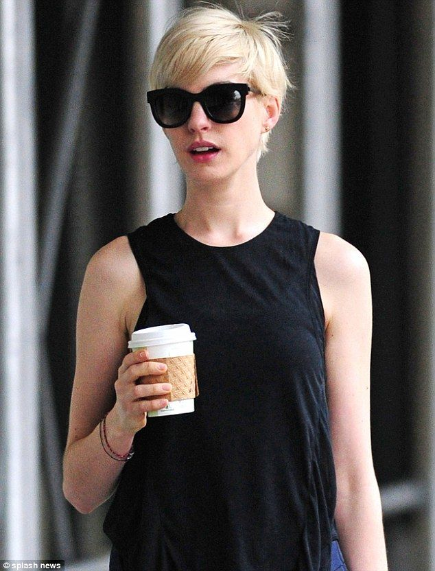 Anne Hathaway Recently Dyed Her Hair Blonde