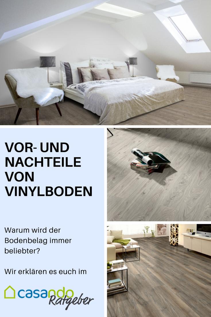 Vor- und Nachteile von Vinylboden | Vinylboden, Fußboden und ...