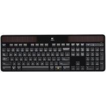 Logitech K750 Solar Wireless Keyboard Black K750 Best Buy Logitech Wireless Logitech Keyboard
