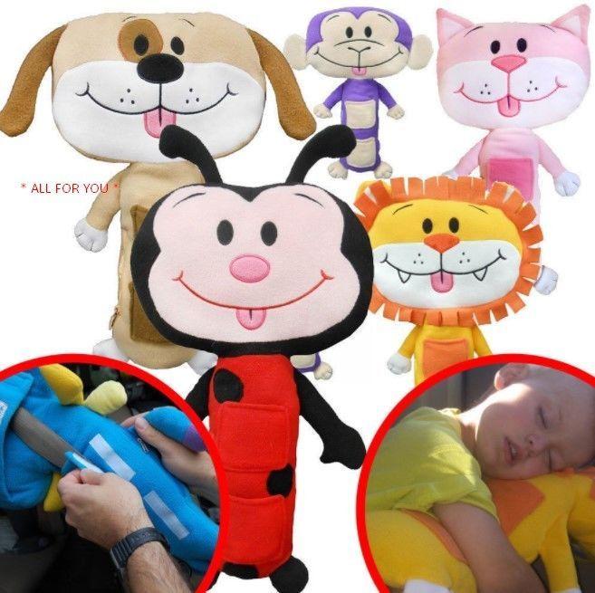 Children Seat Belt Pad Pillow Animal Car Travel Holidays Summer Pet Cushion Kids Allforyou Cute Dolls Pet Cushions Plush Toy