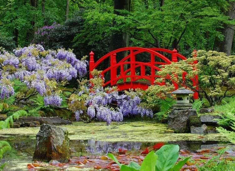 Jardins japonais et id es de conception d 39 am nagement avec - Idee jardin japonais ...