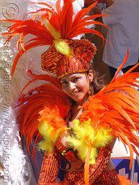 Traditional Brazillian Carnival Costume