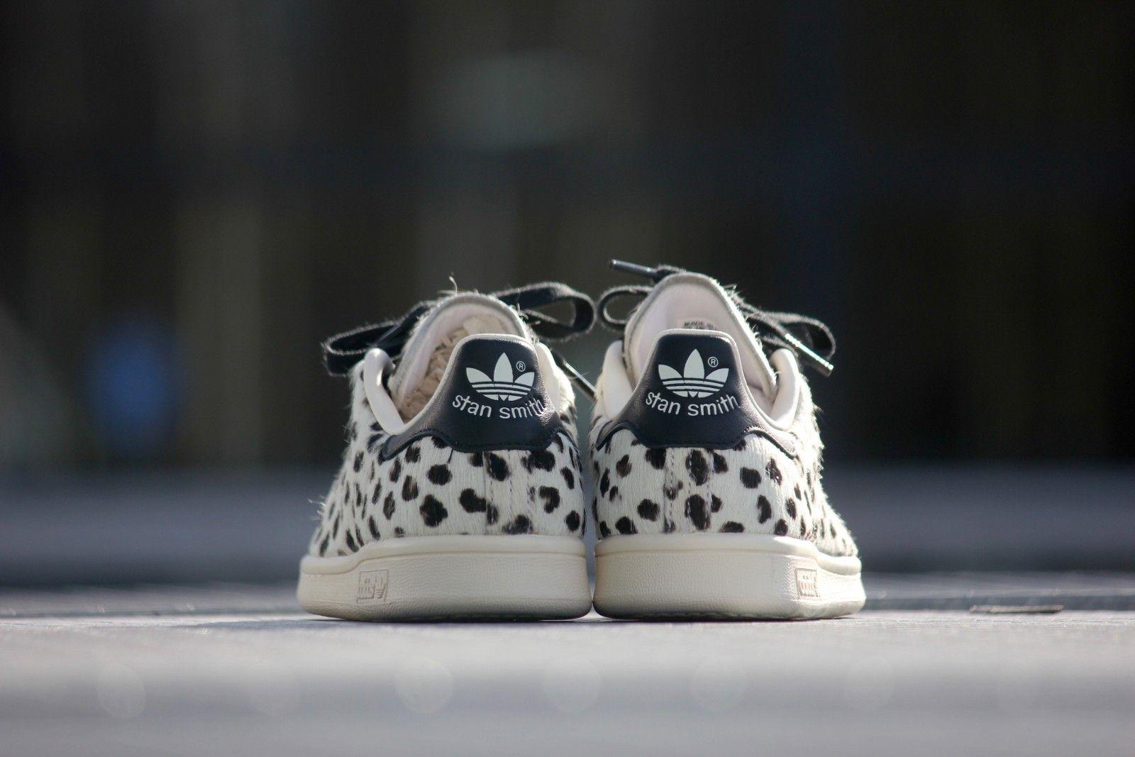Adidas Stan Smith White Leopard Print - S75117 | Schoenen ...