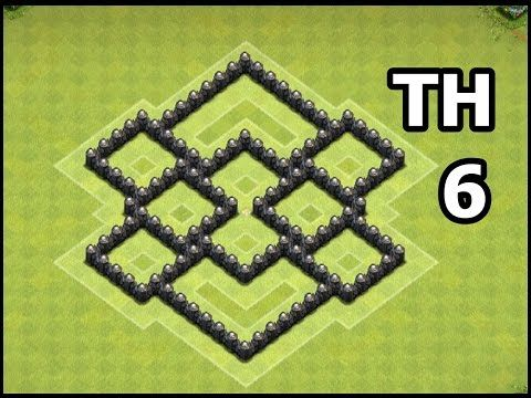 Coc Th 6 Defence Base Layout 10