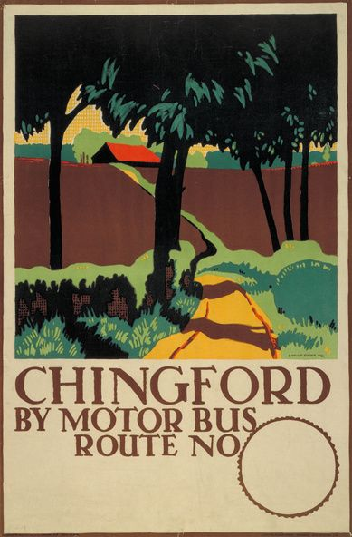 Collection of vintage english posters