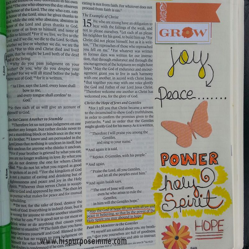 3 ways to use stickers for bible journaling   www.hispurposeinme.com