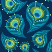 the Paisley Peacock  - bzbdesigner - Spoonflower