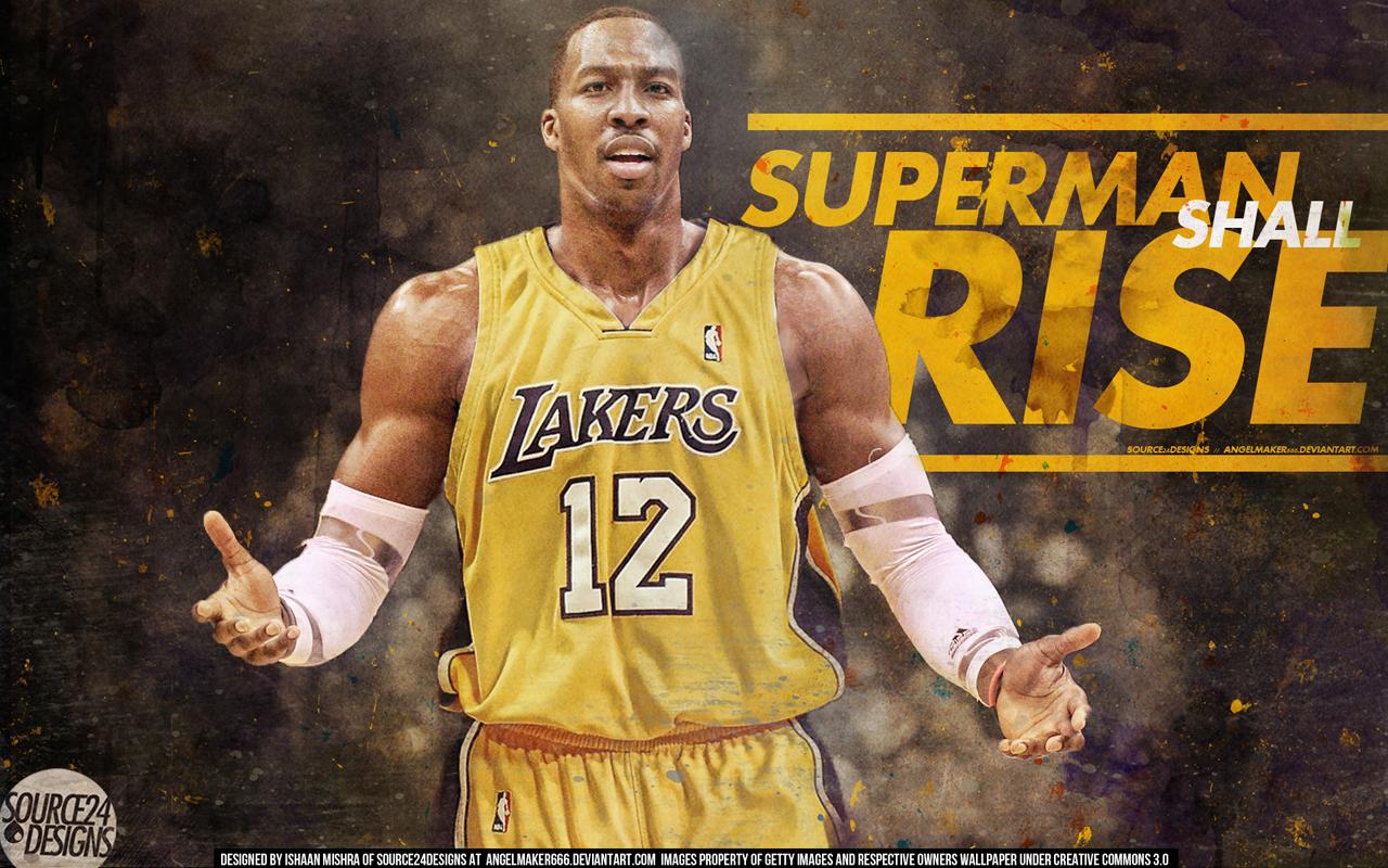Dwight Howard Superman La Lakers La Lakers Dwight Howard Superman