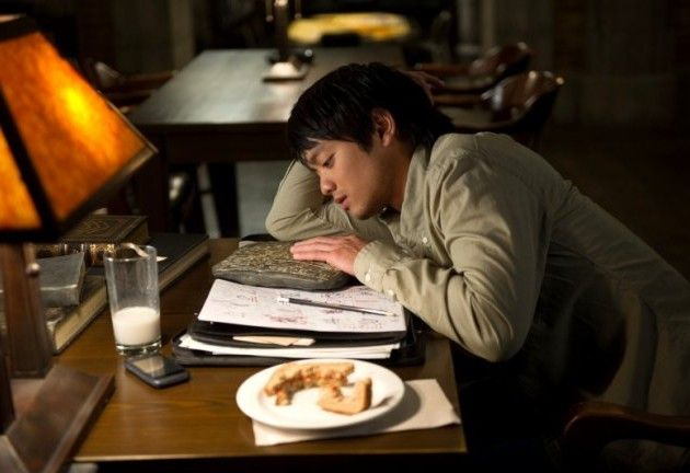 """Kevin's last meal. Kevin giving his all...asap.  Kevin Freaking Solo.  Kevin Advanced Placement Tran.   #Supernatural  Holy Terror  9.09"" <- )': Everything is Kevin's death and it hurts..."