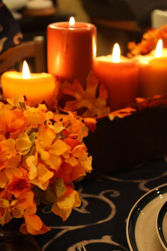 fall candles...