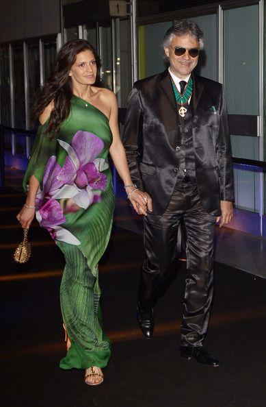 Andrea Bocelli And Veronica Berti Photos Photos Fundaction