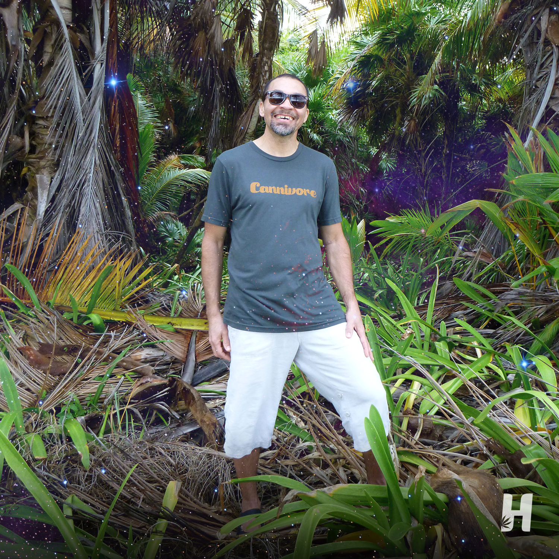 Happy in the tropics 🌴🌞 The Cannivore Hemp Organic Basic Tee made from 60% hemp and 40% organic cotton. #tshirt #hempclothing #wearhemp #hemprevolution #sustainable #ethical #ethicallymade #ethicalclothing #shopethically #fairfashion #slowfashionmovement #ecofriendly #organic #eco #sustainability #environment #greeneconomy #hemp #hempproducts #hemphelps #hempmovement #relaxitslegal #cannabis #cannabiscommunity #cannivore #livingsoil #headsmagazine #headslifestyle