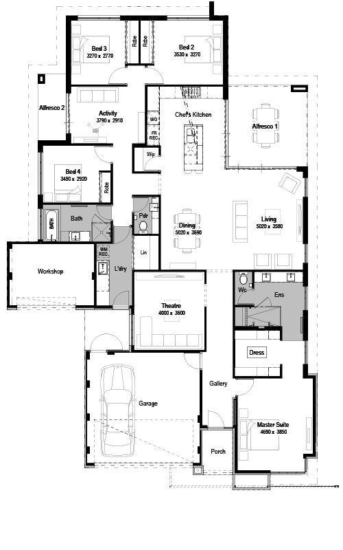 The Radisson Display Homes Map National Homes House Plans Luxury House Plans Basement House Plans