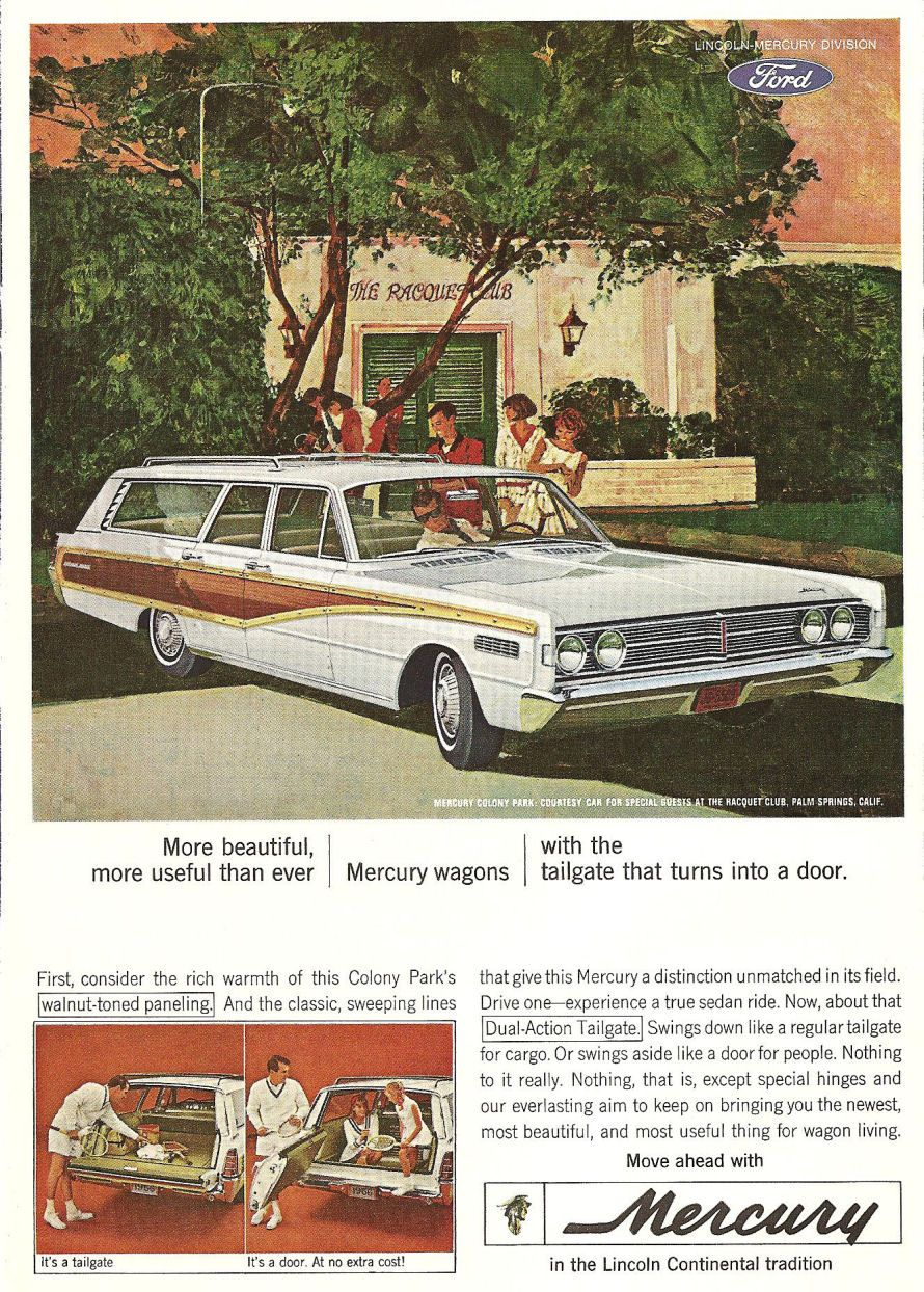 1966 Mercury Colony Park Station Wagon 1965 1968 66 Monterey Wiring Diagram