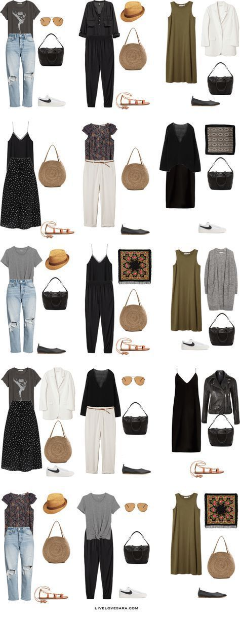 What to Pack for Spain, Portugal, And Denmark #travelwardrobesummer