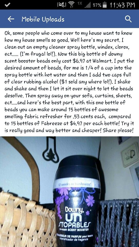 Homemade Febreeze Cleaning Ideas Diy Home Cleaning