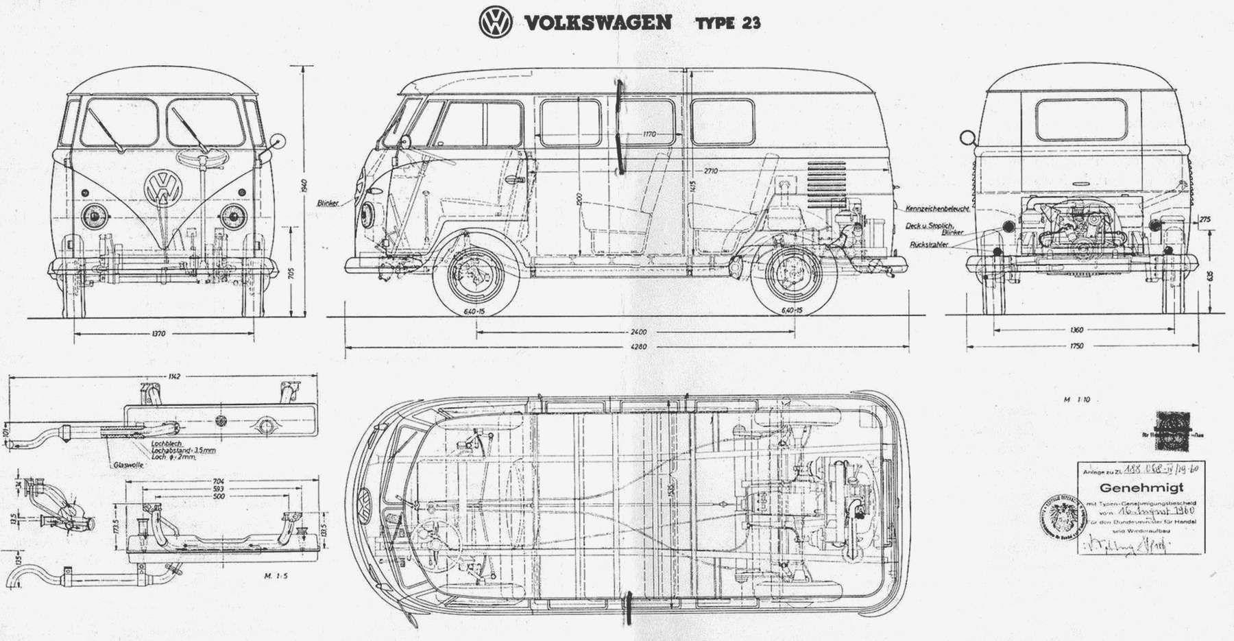 Volkswagen Transporter T1 Minibus 3d 8 935