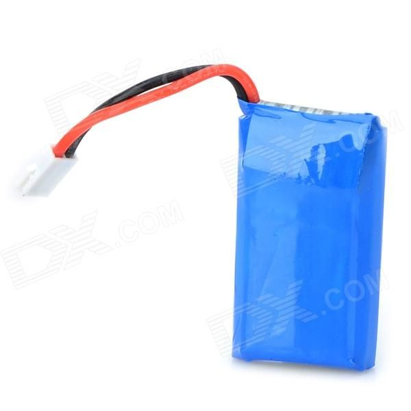 380mAh 3.7V Li-Polymer Battery for Helicopter + Airplane - Blue. Color Blue Material Li-polymer battery Quantity 1 Piece Compatible Models Four axis plane Battery Actual Capacity 380 mAh Nominal Capacity 380 mAh Battery Type Li-polymer battery Voltage 3.7 V Input Voltage Others, V Output Voltage Others, V Plug Specifications Others, Packing List 1 x Battery 4.5cm cable. Tags: #Hobbies #Toys #R/C #Toys #Batteries #Chargers