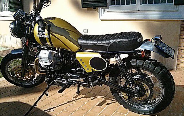 RocketGarage Cafe Racer: Motoguzzi Iron 1100 Scrambler