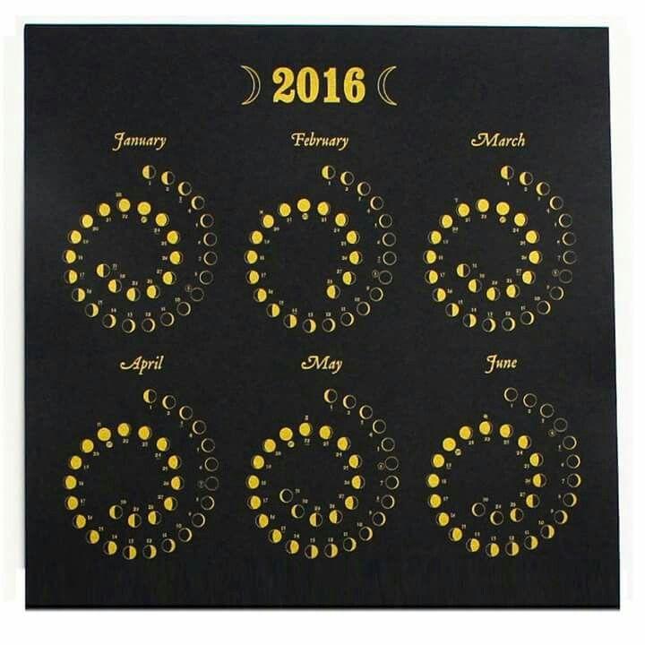 Moon Cycles 2016