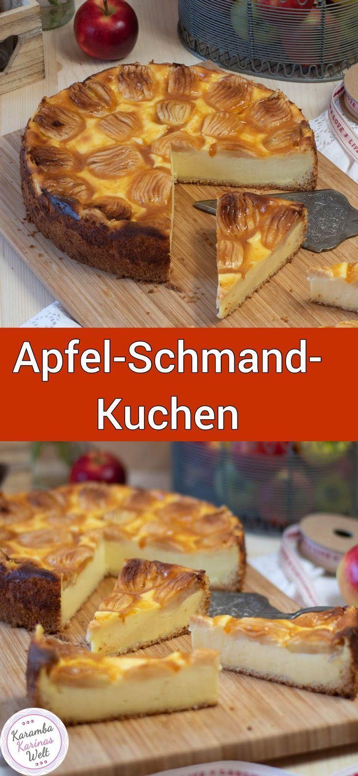 Bombastisch, leckerer Apfel-Schmand-Kuchen