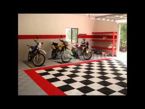 Garage interior design ideas