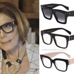 """Os óculos de grau da Gigi em """"A Lei do Amor""""   looks 2017 ... 0b885f12a6"""