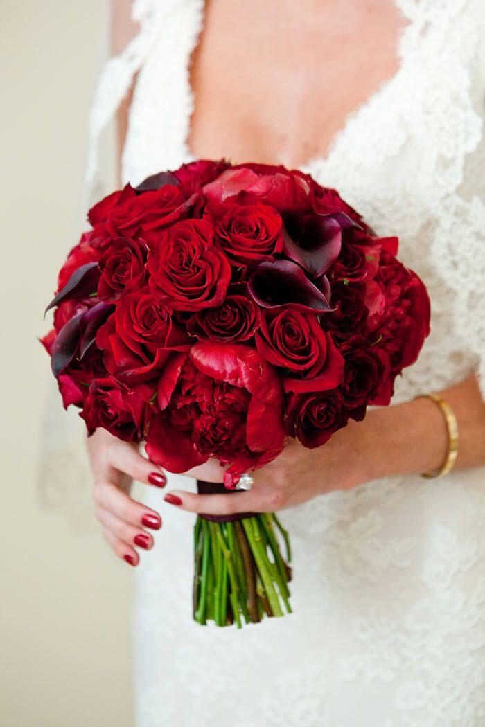 Brautstrauss Mit Roten Rosen Bildergalerie Hochzeit Bouquet