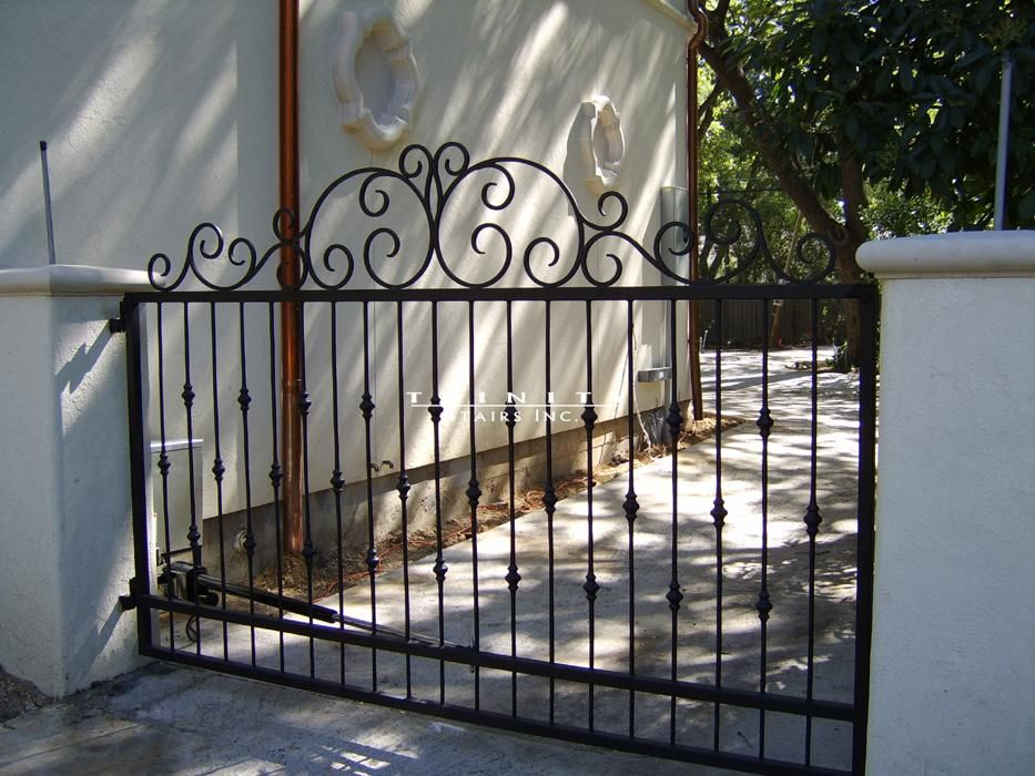 Pictures of wrought iron fencing wrought iron gates - Interior decorative wrought iron gates ...