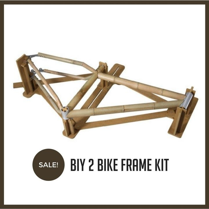 Build It Yourself Biy Bike Frame Kit 2 Allows Anyone Without Prior Knowledge To Build Any Bike Themselves Withi Bike Frame Bamboo Bicycle Build Your Own Bike