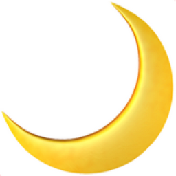 Crescent Moon Emoji U 1f319 Moon Emoji Crescent Moon Art Crescent Moon