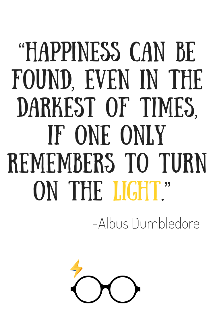 10 Harry Potter Quotes For A Rainy Day Science