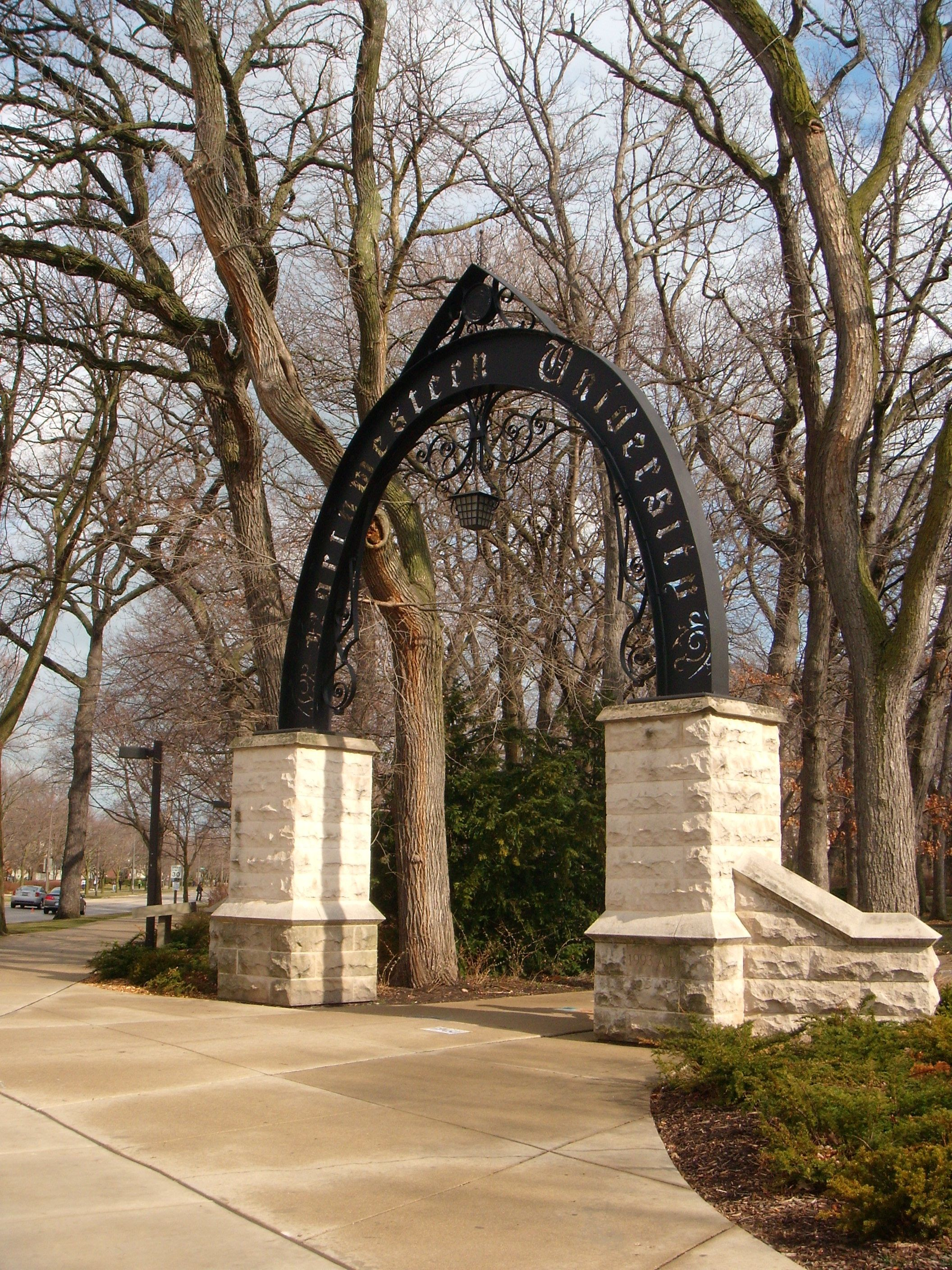 Northwestern University Chicago Evanston Illinois Usa The Only Campus With A Beach