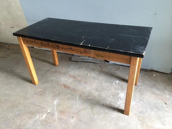 Image Result For 1950 Science Lab Table Wood Build A Table Table