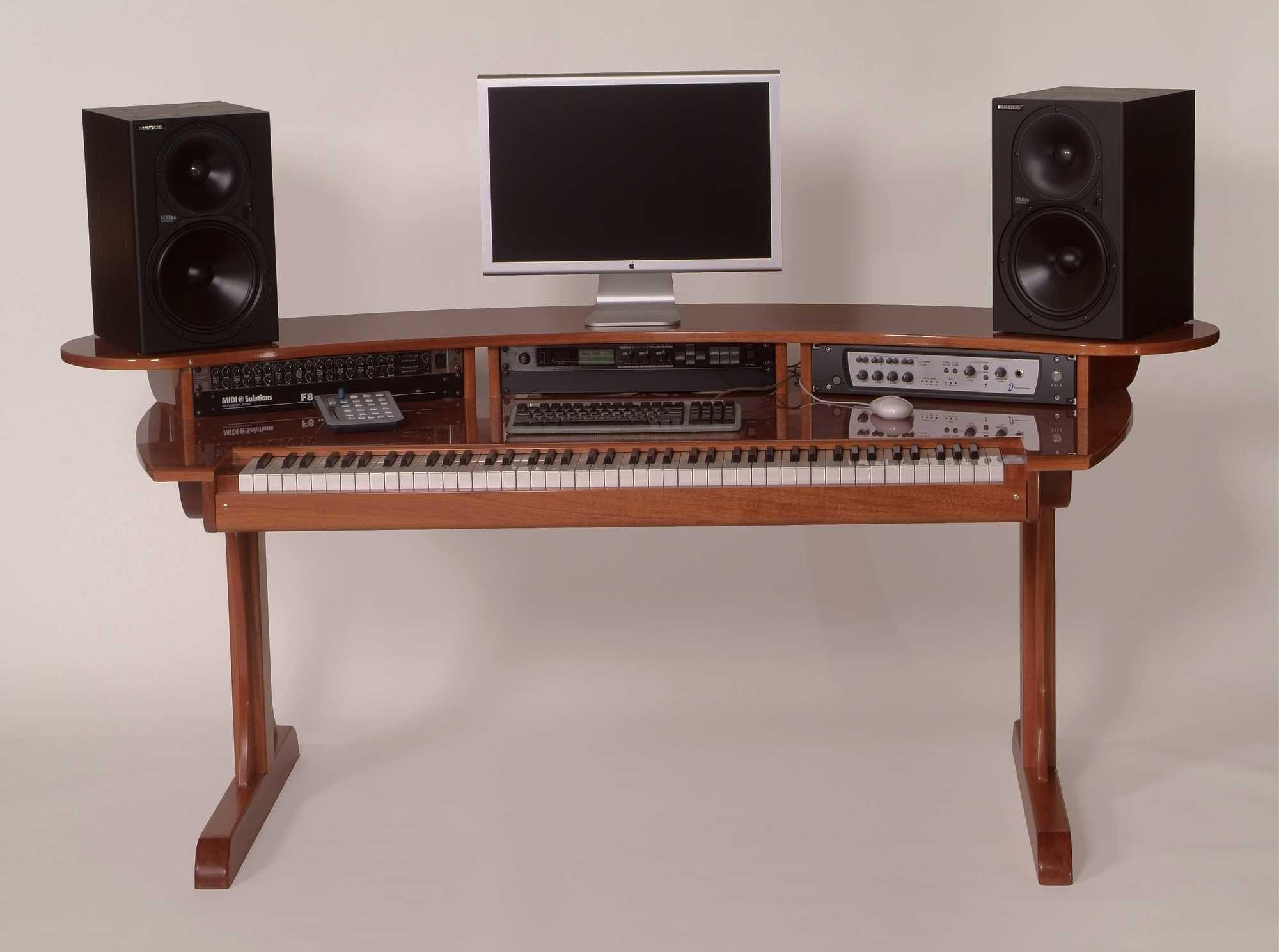 keyboard desk klavier studio und buero. Black Bedroom Furniture Sets. Home Design Ideas