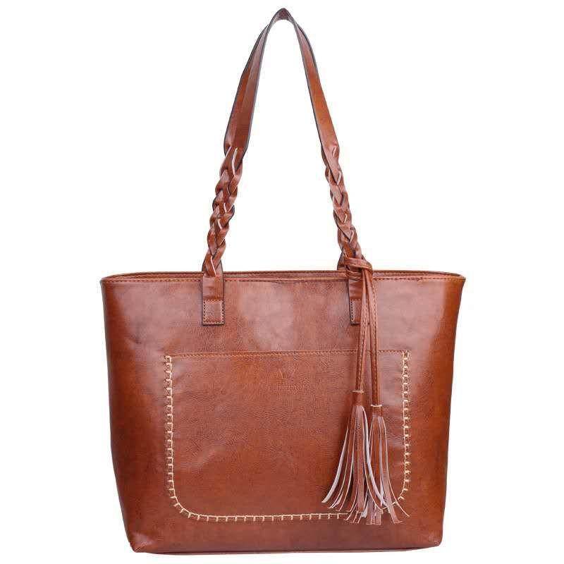 da61969c05e2 2018 Vintage Women Shoulder Bag Female Retro Daily Causal Totes Lady  Elegant Shopping Handbag